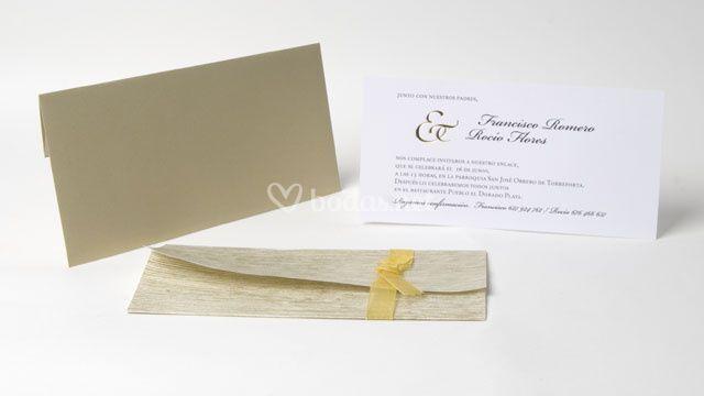 Invitación de boda -ref. Ka09a