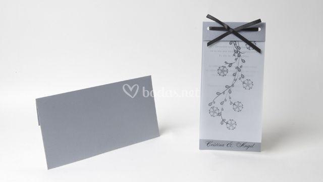 Invitación de boda -ref. Ka10a