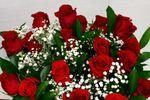 Clásico ramo de rosas