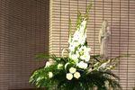 Centro floral para la ceremonia