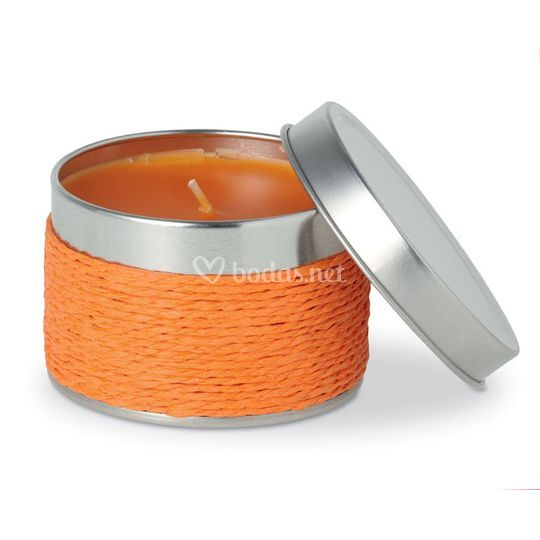 Vela aroma a naranja