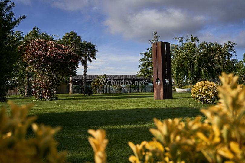 Jardín Mas Palau Blanes
