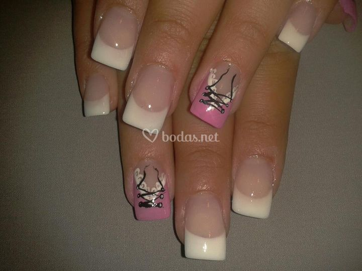 Fashion nail art u as de gel - Figuras de unas en gel ...