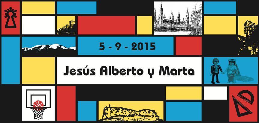 Boda de Jesús y Marta - cara 1