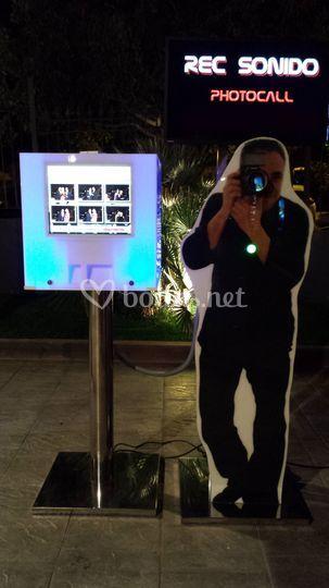 Photocall Rec Sonido fotomaton