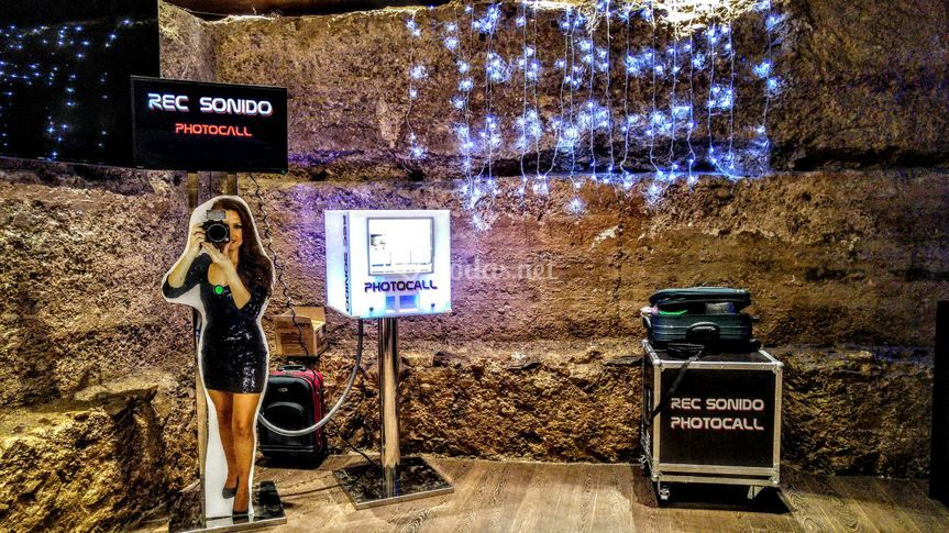 Rec Sonido - Fotomatón, Photocall y Videocall