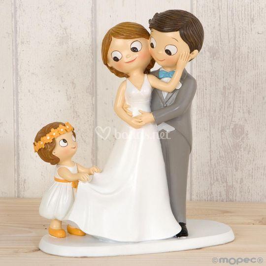 Figura tarta bodas