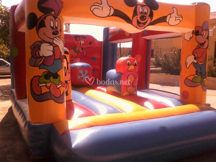 Hinchable Mickey Mouse