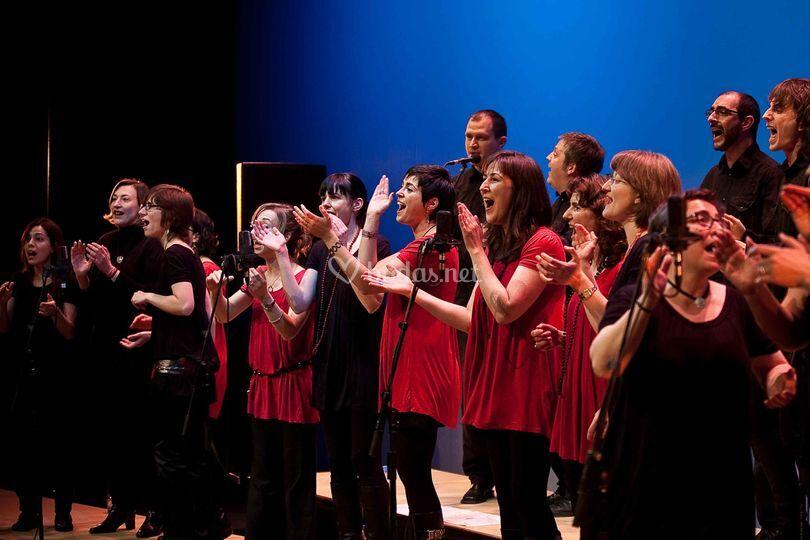 Grup Vocal Zetzània en concierto