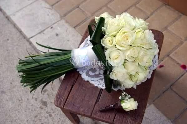 Bouquets de rosas
