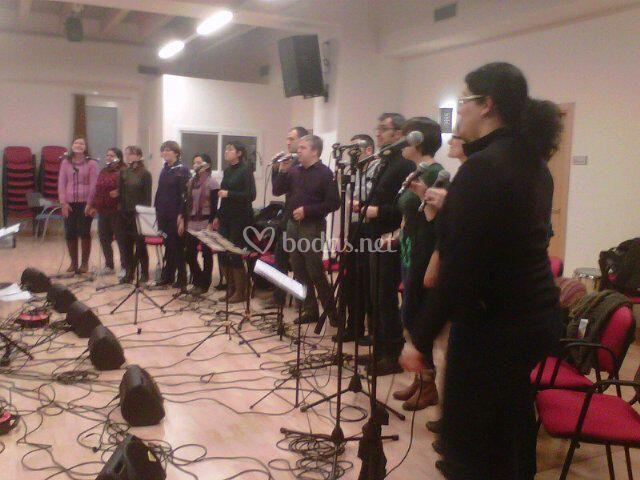 Grup Vocal Zetzània_ensayo