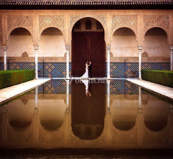 Postboda en Alhambra