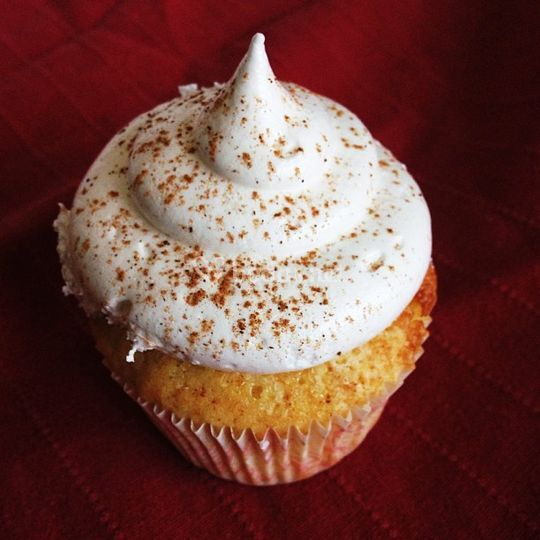 Cupcake de leche merengada