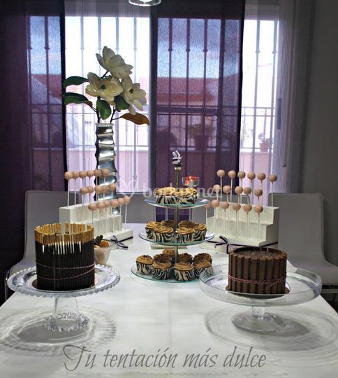 Mesa dulce sencilla