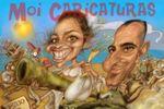 Caricaturas para fotocall