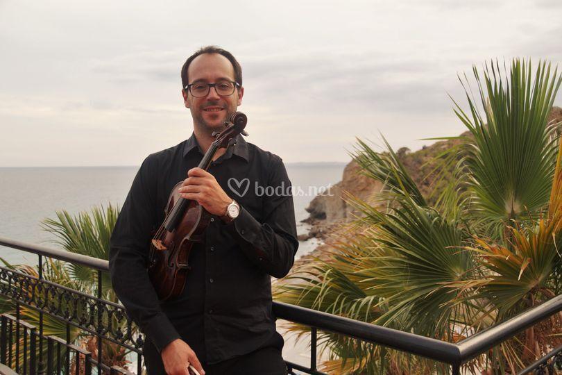 Jaume Llinares, violinista
