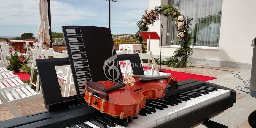 Ceremonia violín y piano