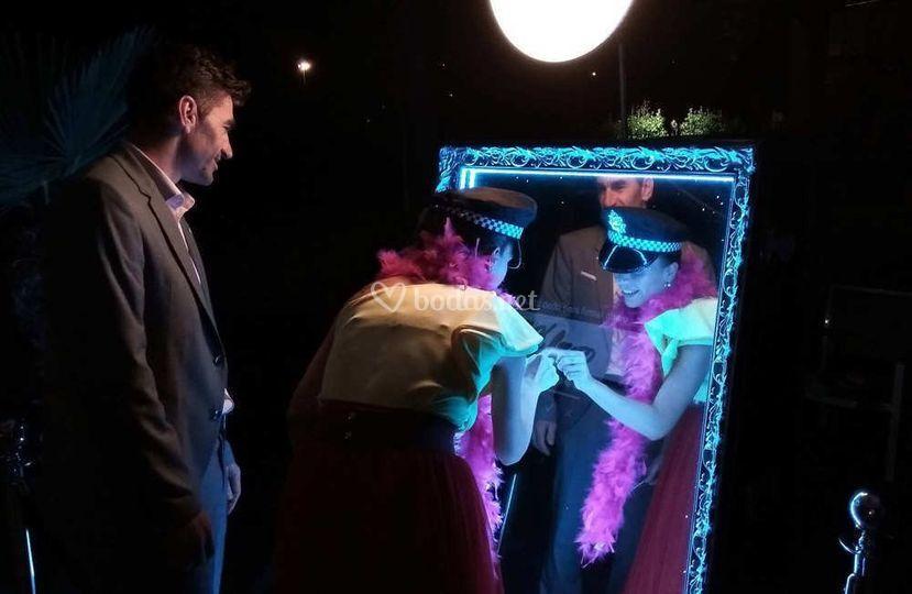 Espejo Mágico HollyBooth