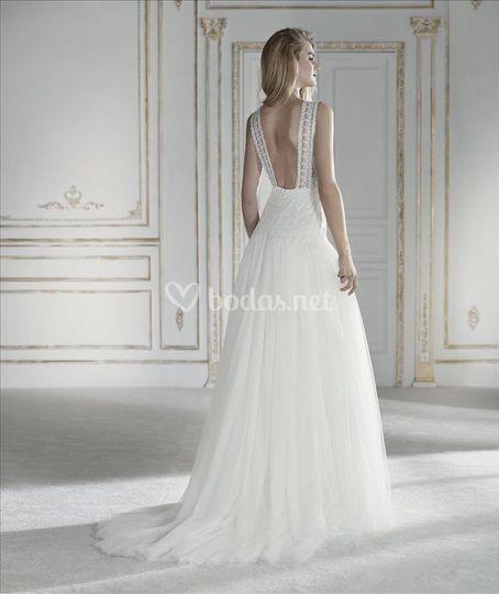 Vestidos novia boho chic sevilla