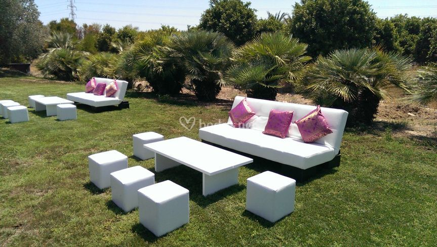 Alquiler mobiliario chill out for Espacios chill out
