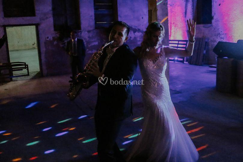 Baile con la novia