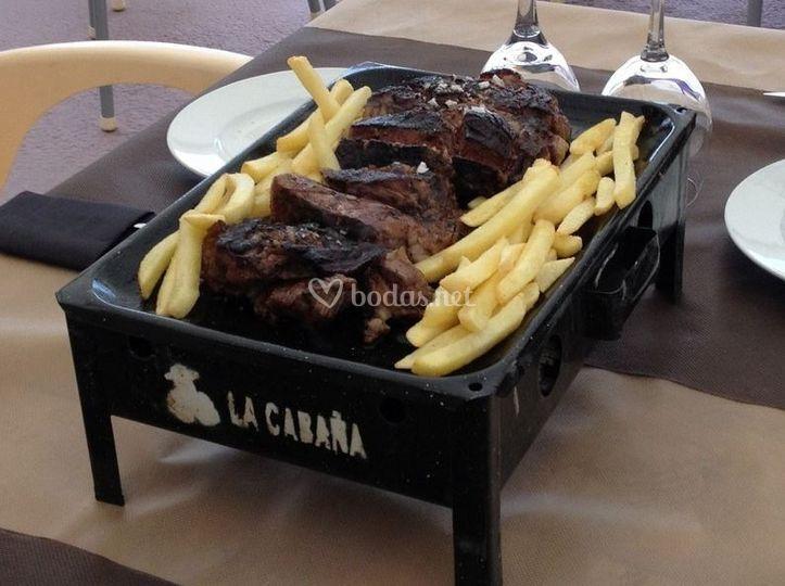 Presentación de la carne