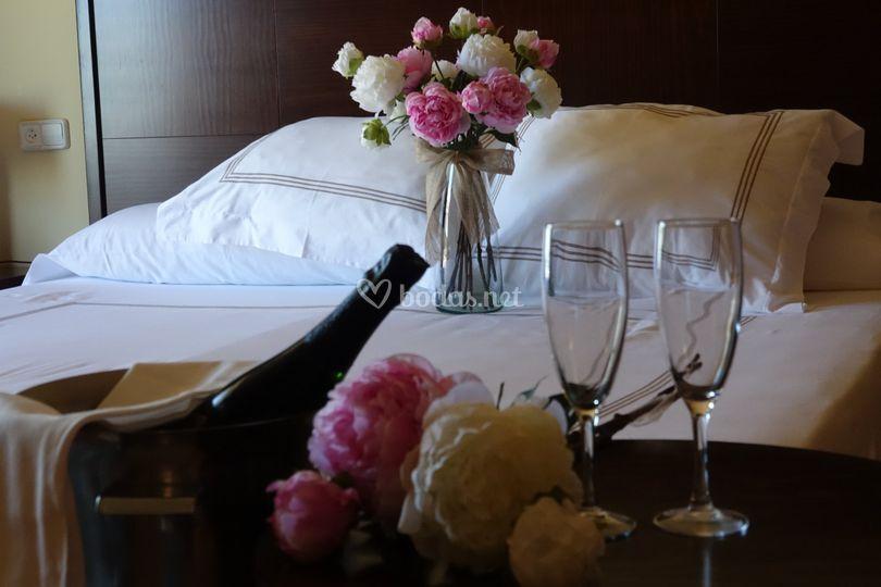 La suite para noche de bodas