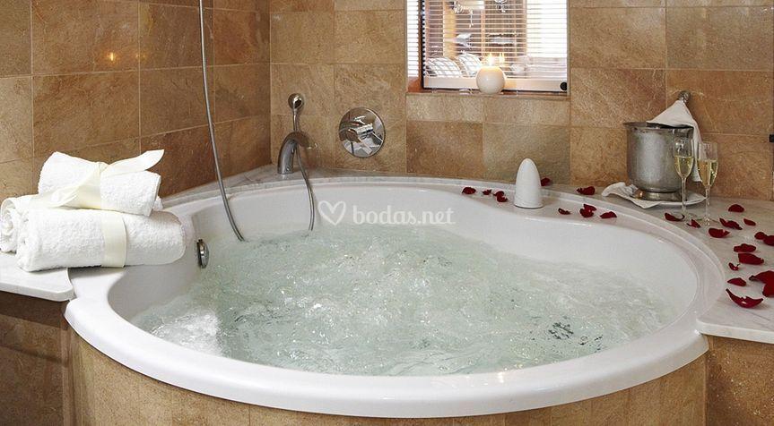 Bañera redonda de Hidromasage