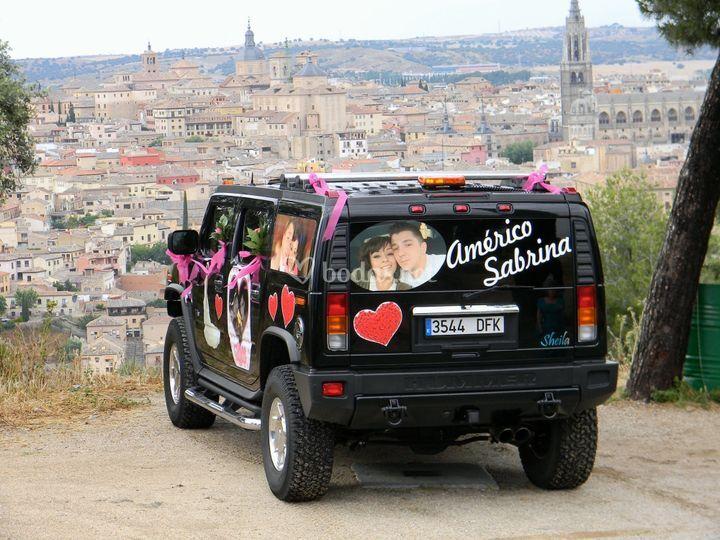 Boda Sabrina, fondo Toledo