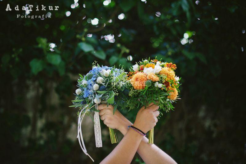 Los ramos de las novias