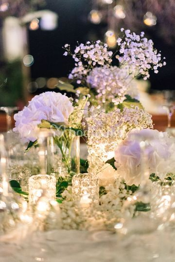 Decoracion floral mesas