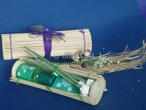 Caja bambú esencia