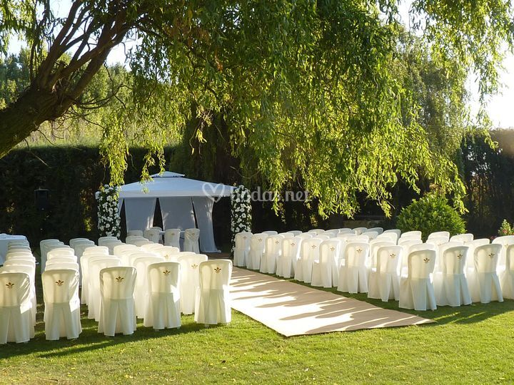 Plano general de la boda