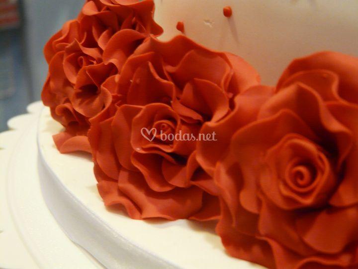 Detalle de las rosas