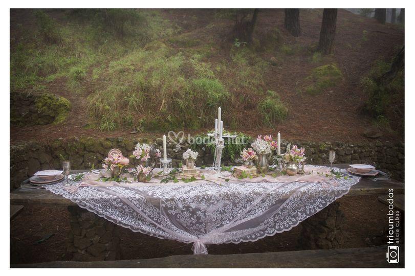 Decoración especial ceremonia