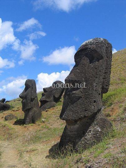Moai, Ranu Raraku