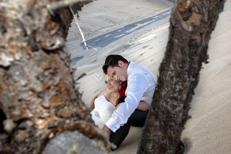 Post-boda en punta paloma