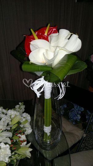 Bouquet tallo largo