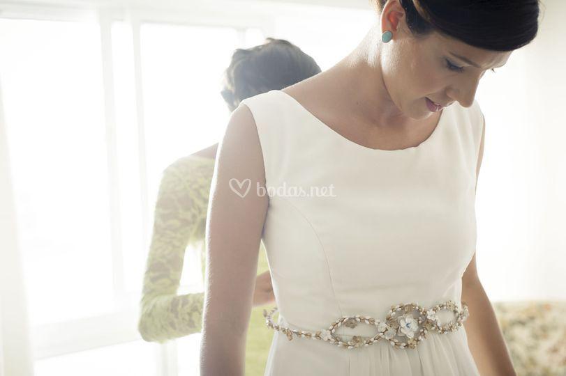 Cinturón de novia