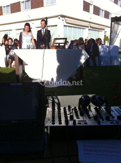Sonorización de la ceremonia civil
