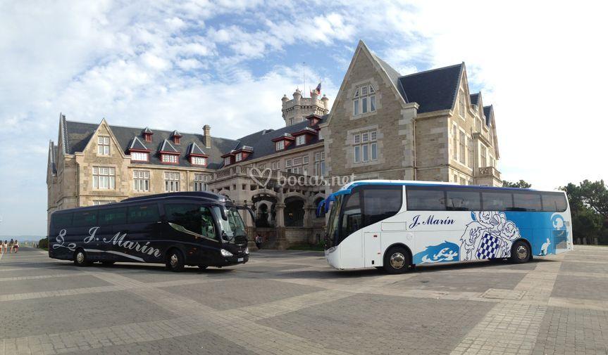 Autobuses 55 plazas