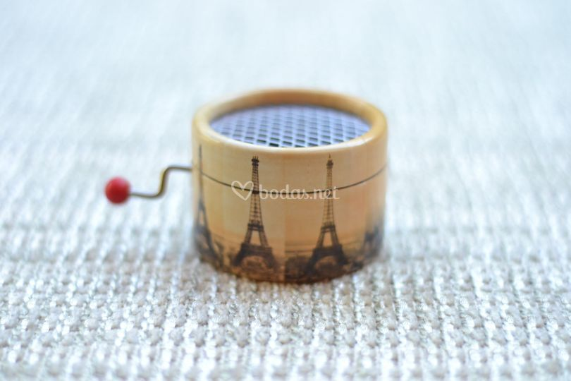 Torre Eiffel y Vals de Amélie