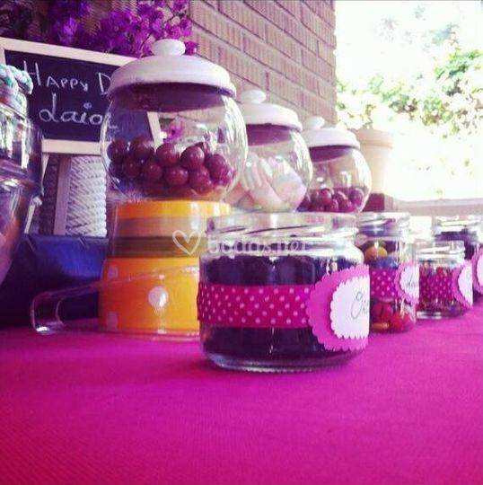 Candy Bar de frutas- Cumpleaño