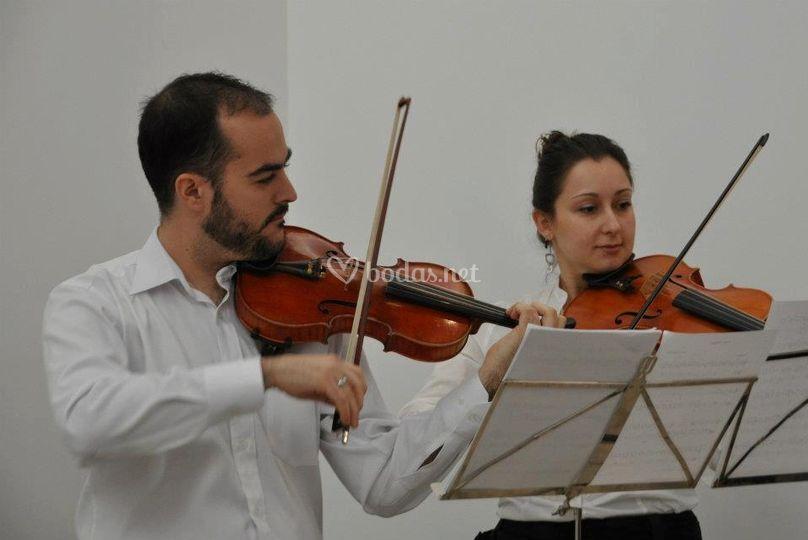 Dúo de violín y viola