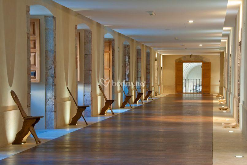 Interiores pasillo