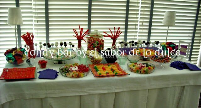 Candy bar de día