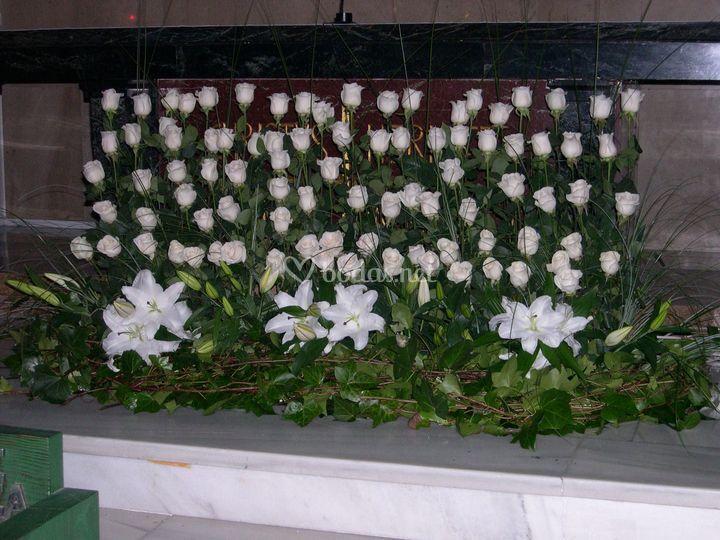 Altar rosas