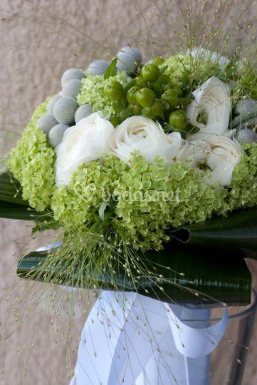Ramo novia natur de Lufesa Floristas