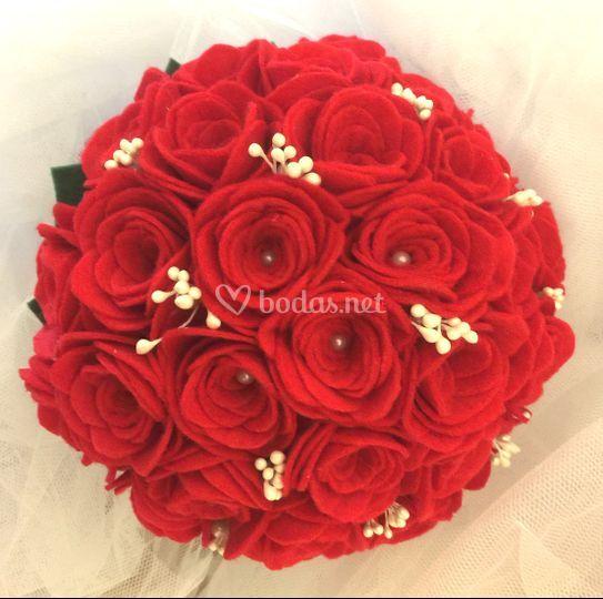 Ramo mediano de rosas