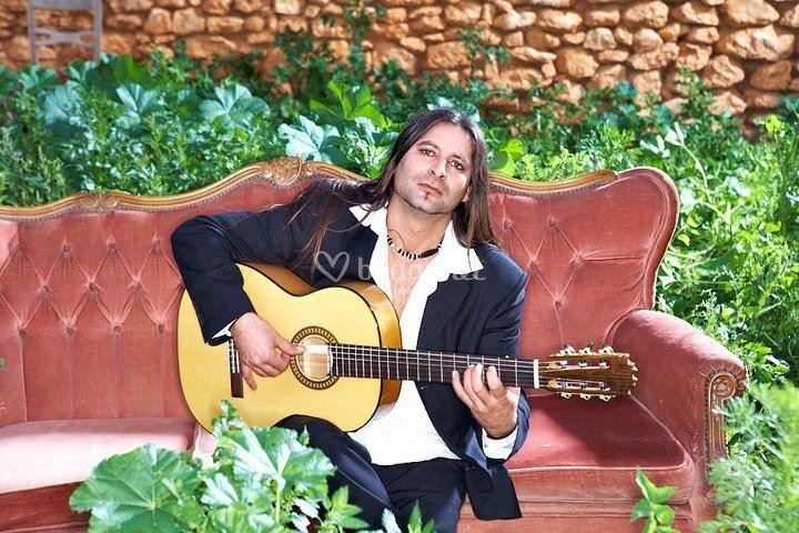 Solista  guitarra española